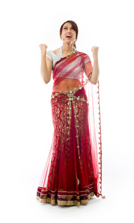 frustrate: Young Indian woman looking frustrate Stock Photo