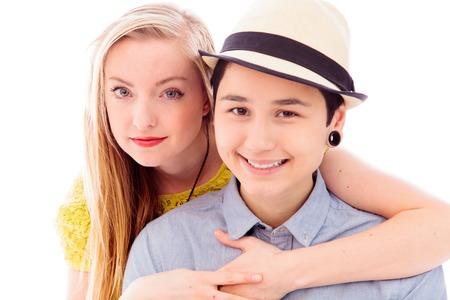 lesbian relationship: Lesbian couple romancing