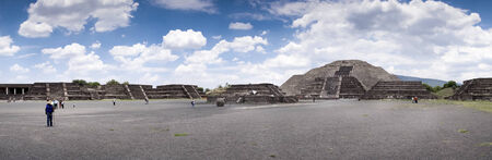 Ruins of a building, Teotihuacan, Mexico City, Mexico 2013-06-10 2:40:12 PM