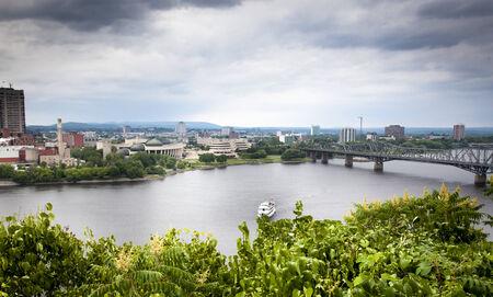 alexandra: Bridge across a river, Alexandra Bridge, Ottawa River, Gatineau, Quebec, Canada 2012-06-18 3:20:18 PM
