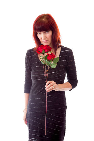 the stinking: Mature woman rejected flower