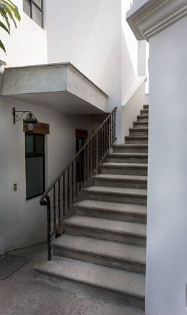 dwelling: Staircase of a house, Mexico City, Mexico 2013-06-07 4:17:11 PM