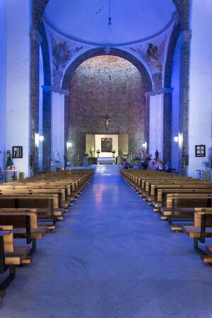 our: Interiors of a basilica, Basilica Of Our Lady Of Guadalupe, Mexico City, Mexico 2013-06-10 11:41:19 AM