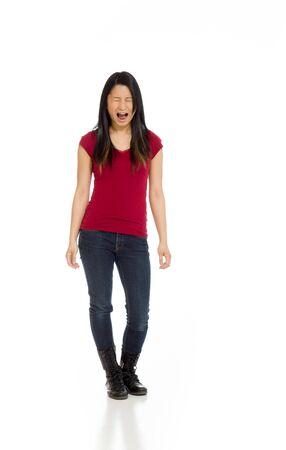 furious: Furious model screaming