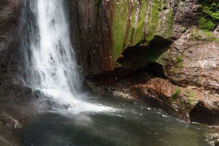 fortuna: View of La Fortuna Waterfall in a forest, Alajuela Province, Costa Rica