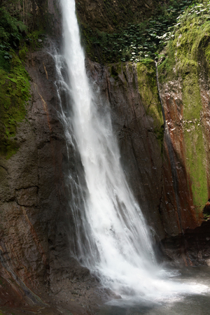 non la: View of La Fortuna Waterfall in a forest, Alajuela Province, Costa Rica