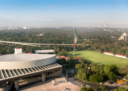 elevated view: Elevated  view of auditorium, National Auditorium, Mexico City, Mexico