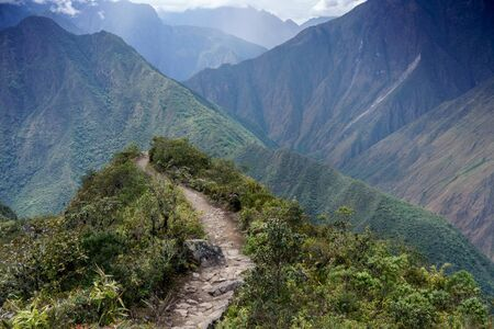 cusco region: Scenic view of mountains, Machu Picchu, Cusco Region, Urubamba Province, Machupicchu District, Peru