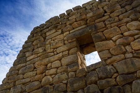 niche: Low angle view of niche, Machu Picchu, Cusco Region, Urubamba Province, Machupicchu District, Peru