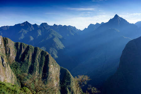 cusco province: High angle view of Machu Picchu, Cusco Region, Urubamba Province, Machupicchu District, Peru