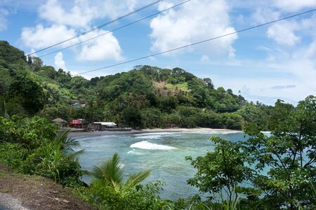 Scenic view of beach, Trinidad and Tobago