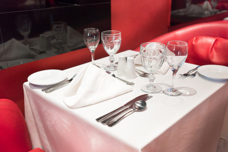 ... Arrangement Elegance Luxury Place Setting Food And Drink Absence Empty Food And Drink Industry Wine Glass Napkin Preparation Silver Service ... & Table Setting In A Restaurant Trinidad Trinidad And Tobago Stock ...