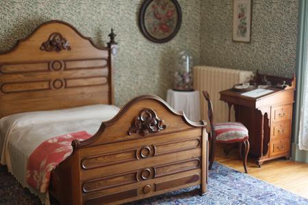 ... Schlafzimmer, Gemütlich, Ruhen, Entspannung, Cosy, Bett, Eleganz, Das  Leben Zu Hause, Luxus, Modern, Abwesenheit, Malerei, Stuhl , Tisch,  Lebensstil, Wo