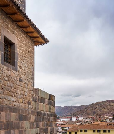 Architecture, Building Exterior, Built Structure, City, Cityscape, Cloud - Sky, Colour Image, Cusco City, Day, Distant, House, Mountain, No People, Outdoors, Peru, Photography, Residential Building, Residential District, Residential Structure, Scenics, Sk