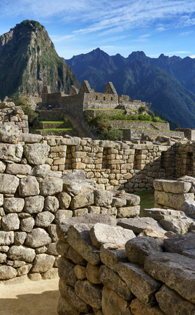 cusco province: Scenics, Tourism, Mt Huayna Picchu, Cusco Region, Urubamba Province, Aguas Calientes - Machupicchu District, Peru, Travel, Travel Destinations, UNESCO World Heritage Site, Urubamba Valley, Machu Picchu, Beauty In Nature, Colour Image, Vertical, Idyllic, I