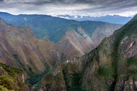 Tranquillity, Tourism, Mt Huayna Picchu, Cusco Region, Urubamba Province, Aguas Calientes - Machupicchu District, Peru, Travel, Travel Destinations, UNESCO World Heritage Site, Urubamba Valley, Machu Picchu, Beauty In Nature, Dawn, International Landmark, Stock Photo