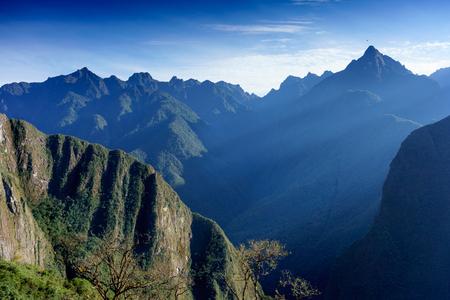 tranquillity: Scenics, Tourism, Mt Huayna Picchu, Cusco Region, Urubamba Province, Aguas Calientes - Machupicchu District, Peru, Tranquillity, Travel, Travel Destinations, UNESCO World Heritage Site, Urubamba Valley, Machu Picchu, Beauty In Nature, Colour Image, Day, S