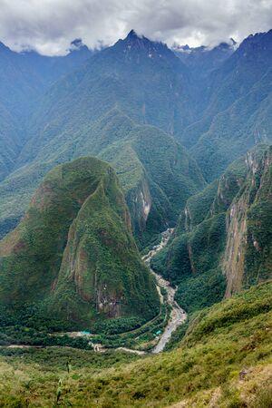 Tourism, Mt Huayna Picchu, Cusco Region, Urubamba Province, Aguas Calientes - Machupicchu District, Peru, Travel, Travel Destinations, UNESCO World Heritage Site, Urubamba Valley, Machu Picchu, Beauty In Nature, Dawn, International Landmark, Mountain, Nat