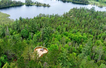 田園地帯のオンタリオ州カナダ自然観ベルヴェデーレ