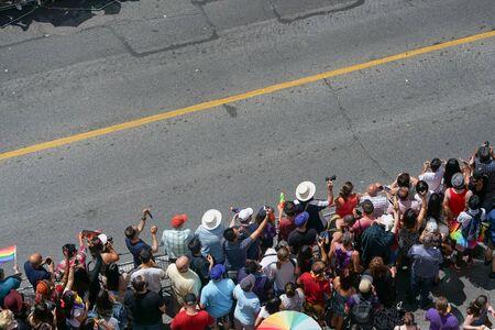 homosexuales: orgullo gay de Toronto 2016