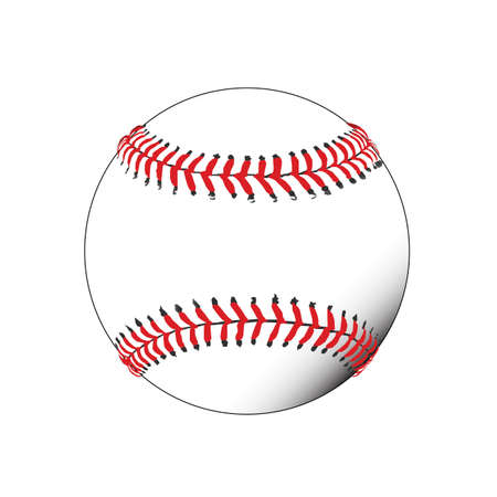 Illustration of a baseball Ilustrace