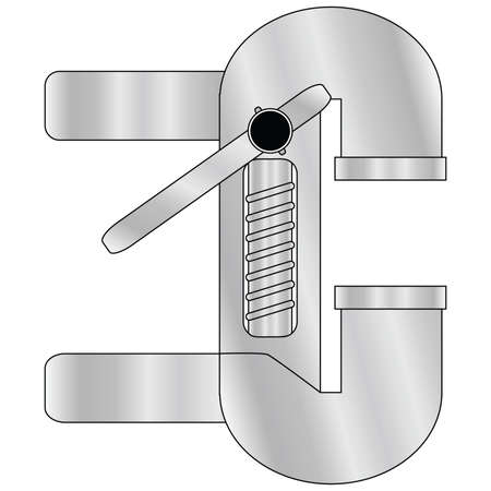 Illustration of table metal pressing tool