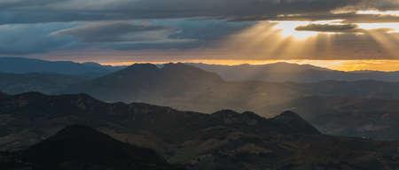 san marino: San Marino Sunset VI Stock Photo