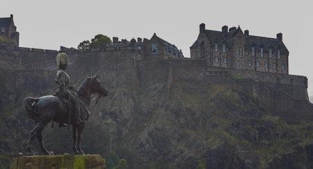princes street: Edinburgh Castle Editorial