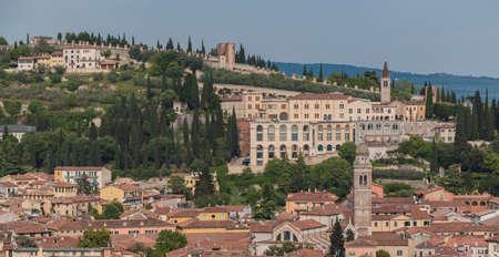 pietro: Castel S. Pietro Stock Photo