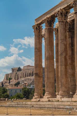 xvi: Temple of Olympian Zeus and Acropolis XVI