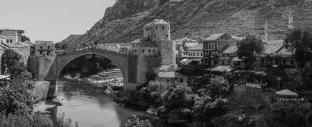 mostar: Mostar VIII Stock Photo