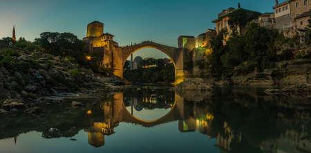Mostar Sunset I Stock Photo