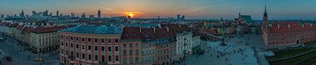 Warsaw Sunset Panorama II