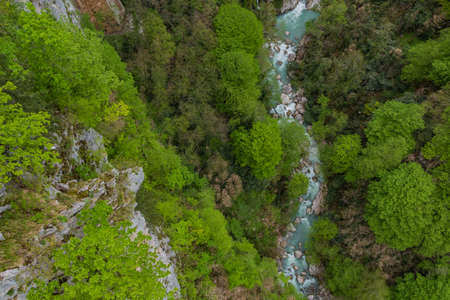 kutaisi: Okatse Canyon I Stock Photo