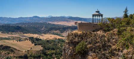 Ronda Landscape Panorama II Stock Photo