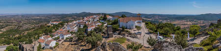 Marvão Panorama Stock Photo