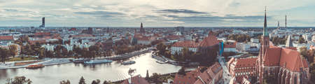 A panoramic view of Wroclaw taken from the Cathedral of St. John the Baptist II.