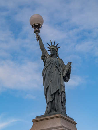 A picture of Poitiers Statue of Liberty.