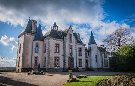 A picture of the Château de Bressuire.
