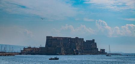 A picture of Castel dellOvo (Naples).