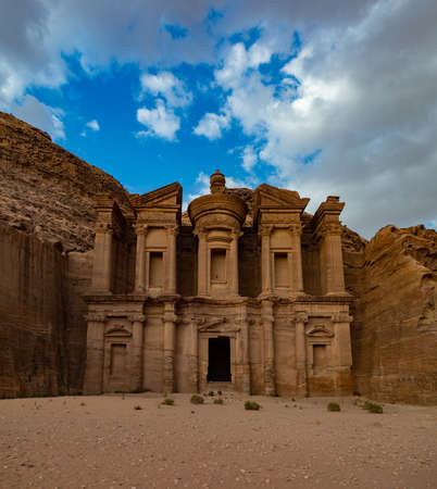 A picture of the Ad Deir / Monastery (Petra).