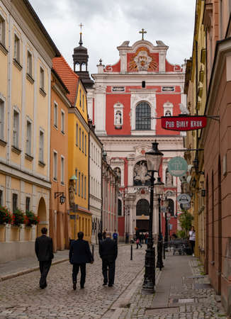 A picture of ÅšwiÄ™tosÅ'awska Street in Poznan, near the Market Square. 新聞圖片