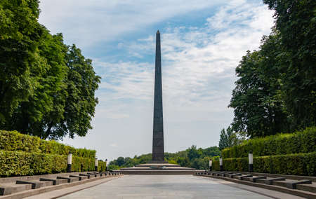 A picture of the Tomb of the Unknown Soldier, in Kiev.