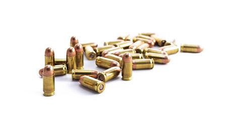 armament: Bullet on white background