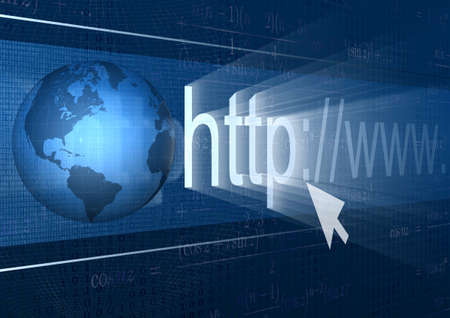 abstract background browser address world wide web Stock Photo - 15732232