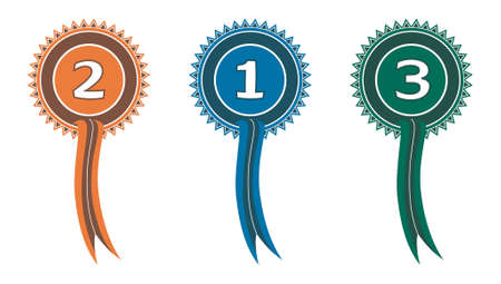 rankings: award ribbons