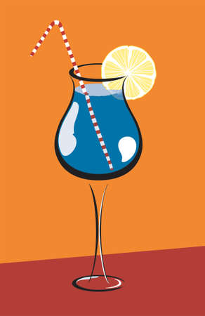 Cocktail Illustration Stock Vector - 673055