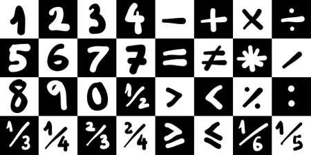 subtract: Math Symbols 1
