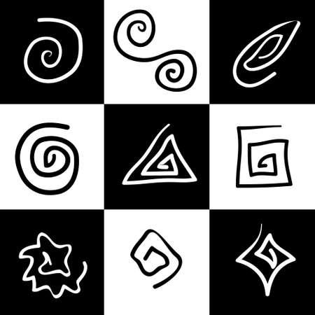 Mystic Symbols Stock Vector - 681427