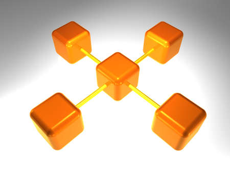 node: network node Stock Photo
